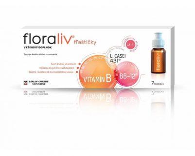 Floraliv flastičky 7x10 ml Probiotiká