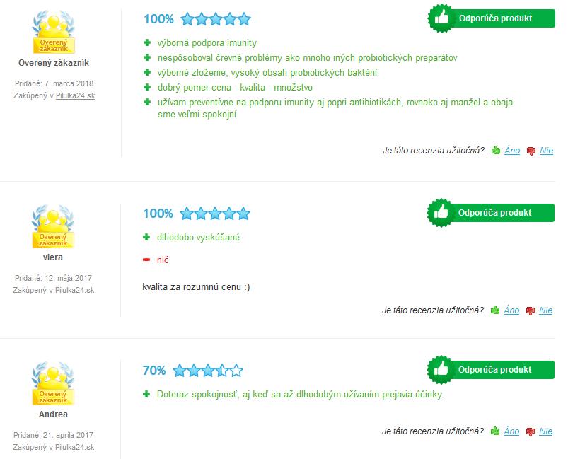 LactoFlor - skúsenosti a recenzie